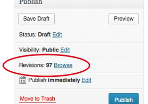 What's New in Revisions for WordPress 3.6